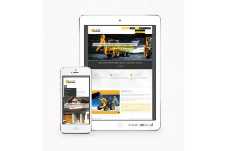 Nowoczesna strona www dla firmy budowlanej