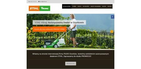 Realizacja strony www responsywnej + CMS - STIHL i VIKING autoryzowany dealer