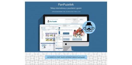 Sklep internetowy PanPuzelek - stworzenie sklepu internetowego z puzzlami