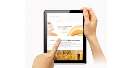 Realizacja strony internetowej responsywnej RWD wraz z CMS - Medycyna Estetyczna bez Skalpela