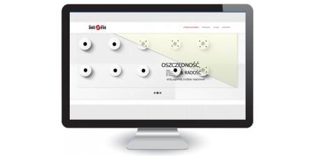 Zaprojektowanie strony internetowej dla Set-Fix Sp. K. - Producenta inteligentnych technologii mocowań