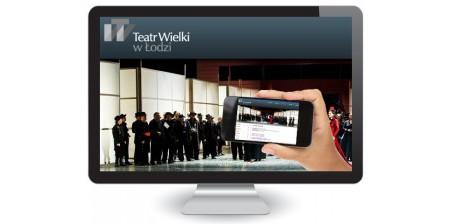 Projekt i wykonanie serwisu internetowego dla Teatru Wielkiego w Łodzi